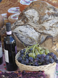 Grapes  Bread  Wine  Cheese Exhibit  La Festa Dell'Uva  Impruneta  Italy  Tuscany