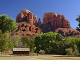 Cathedral Rocks  Sedona  Arizona