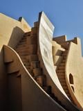 Jantar Mantar in Jaipur  One of Six Major Observatories Built by Maharajah  India