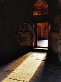 Afternon Sunlight Through Doorway on Interior of Tomb of Mohammed Shah  Lodhi Gardens  New Delhi