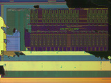 Micrograph of a Computer Microprocessor  LM X200
