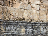Limestone Overlying Black Shale  Guadalupe Mountains Np