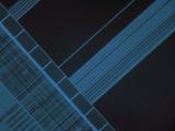 Micrograph of Computer Microprocessor  LM X200  Epifluorecence  UV Illumination