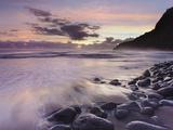 Waipio Beach at Dawn  Big Island  Hawaii  USA