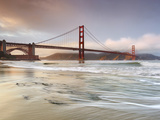 Golden Gate Bridge and Marin Headlands  San Francisco  California  USA