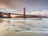 Golden Gate Bridge and Marin Headlands  San Francisco  California  USA