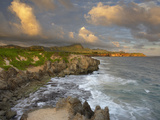 The Coastline East of Poipu on Kauai  Hawaii Shows the Remnants of Ancient Lithified Sand Dunes