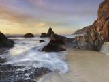 Grey Whale Cove Surf  San Mateo County  California  USA