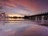 Stearns Wharf  Santa Barbara  California  USA