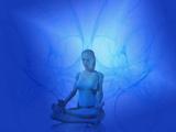 Female Likeness Practicing Yoga