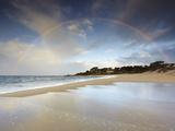 Rainbow  Carmel State Beach  California  USA