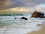 Crashing Waves  Garrapata State Park  Big Sur  California  USA