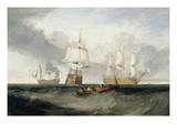 The 'Victory' Returning from Trafalgar  1806