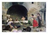 Washerwomen Disputing  1871