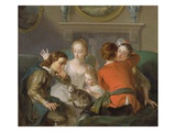 The Sense of Touch  c1744-47