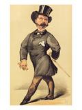 Sir Robert Peel (1822-95)  Cartoon from Vanity Fair  19 March 1870
