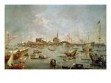 The Doge of Venice on the 'Bucentaur'  1763