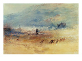 Yarmouth Sands  C1840 (W/C on Paper)
