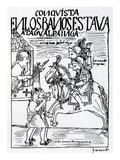Sebastian De Benalcazar and Hernando Pizarro Confront Atahualpa Inca  Royal Baths in Cajamarca