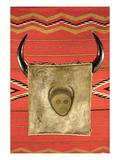 Navajo Buffalo Moon Blanket  from Arizona (Wool)