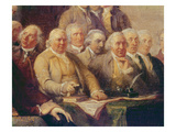 Drafting the Declaration of Independence  28th June 1776  c1817 (Detail)