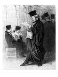 Les Gens De Justice  Cartoon from 'Le Charivari'  26 March  1846 (Litho)