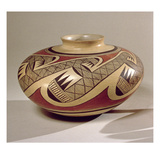 Hopi 'Bullware' Jar  from Arizona (Ceramic)