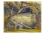 The Timber Wain  C1833-34 (W/C and Gouache on Paper)