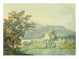 Sir William Hamilton's Villa  C1795 (W/C over Pencil on Paper)