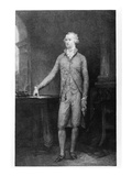 Alexander Hamilton  after the Painting of 1792 (Engraving)