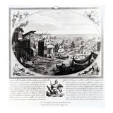 Early Settlement of Venice (Engraving) (Also See 316845)