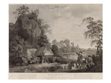 Shooting  Plate 1  Engraved by William Woollett (1735-85) 1769 (Fifth State Engraving and Etching)