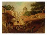 Street in Patna  c1825