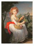Portrait of Marie-Christine of Bourbon-Naples (1779-1849)