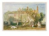 Steeton Manor House  Near Farnley  C1815-18 (W/C on Paper)
