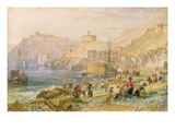 St Mawes  Cornwall  C1823 (W/C on Paper)