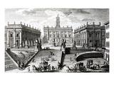 Piazza Del Campidoglio (Engraving)