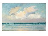 Sea Study - Morning (Oil on Panel)