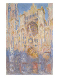 Rouen Cathedral  Effects of Sunlight  Sunset  1892