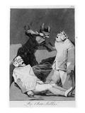 The Chinchillas  Plate 50 of 'Los Caprichos'  1799 (Etching and Aquatint)