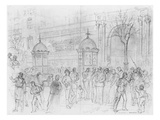 Album of the Siege of Paris  Boulevard Montmartre  January 1871