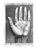Examen Conscientiae  Illustration from 'Exercitia Spiritualia' by St Ignatius De Loyola