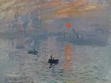 Impression soleil levant, 1872 Reproduction d'art par Claude Monet