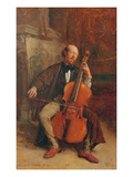 Alexandre Batta  the Cellist  1855