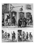 Daily Life in Brazil  from 'Travels in Brazil'  Lithographed by Thierry Freres  1839 (Litho)