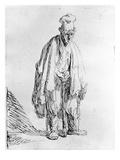 Beggar in a High Cap  C1630 (Etching)