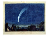 Donati's Comet  1858 (W/C on Paper)
