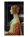 Giovanna Tornabuoni  Nee Albizzi  1488  Detail (Oil on Panel)