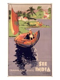 see India'  1938 (Colour Litho)