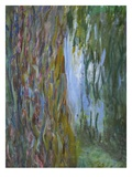 Weeping Willow and the Waterlily Pond  1916-19 (Detail)
